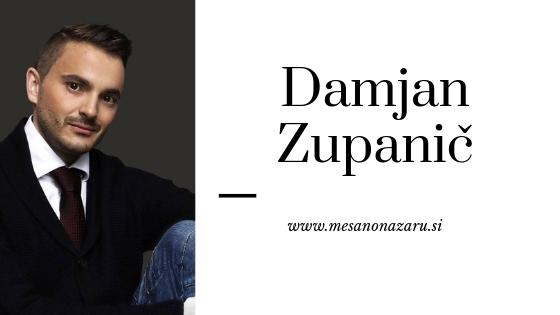 Slovenski bloger Damjan Zupanič