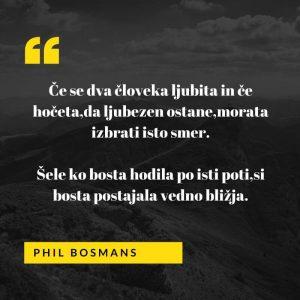 Ljubezenski verz Phil Bosmans