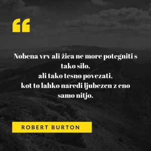 Ljubezenski verz Roberta Burtona