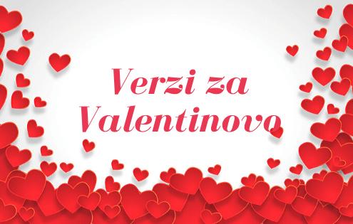 Najlepši verzi za Valentinovo