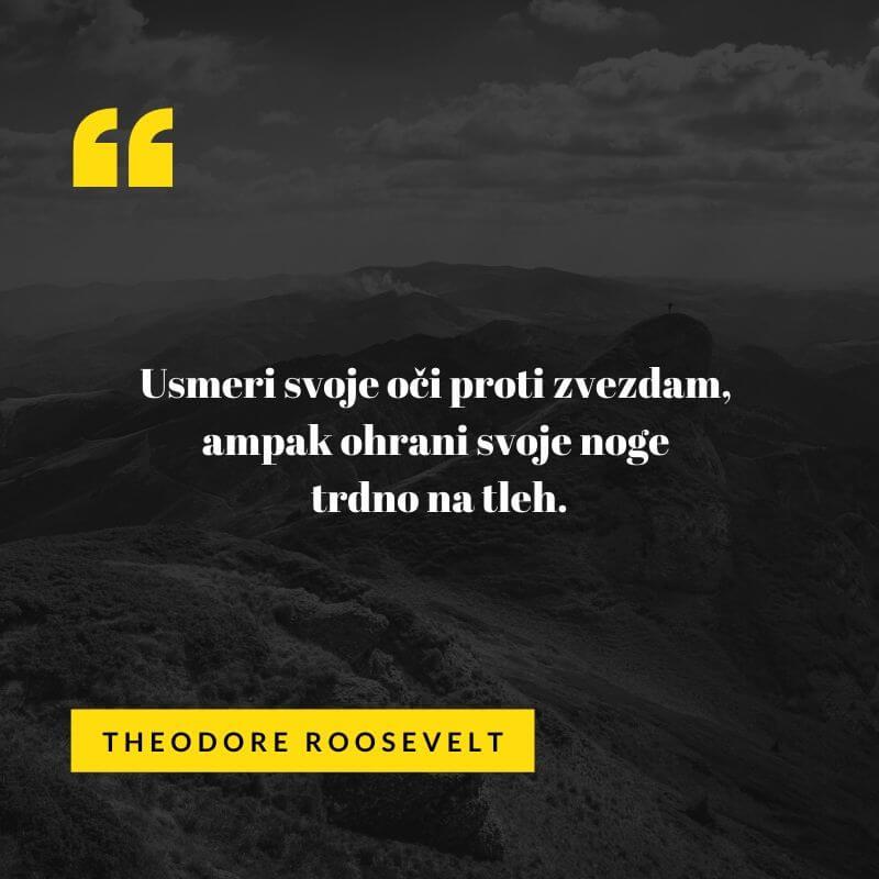 dobra misel Theodora Roosevalta