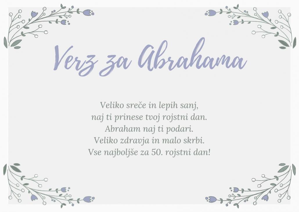 verz za 50 let