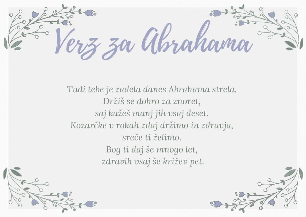Abraham verz