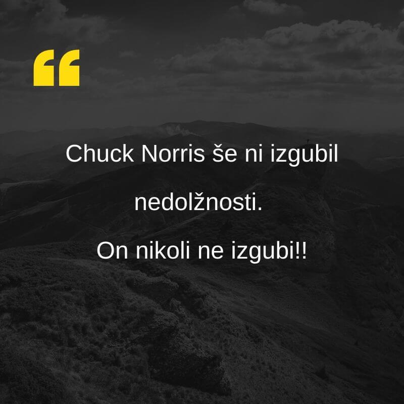 Chuck Norris šala