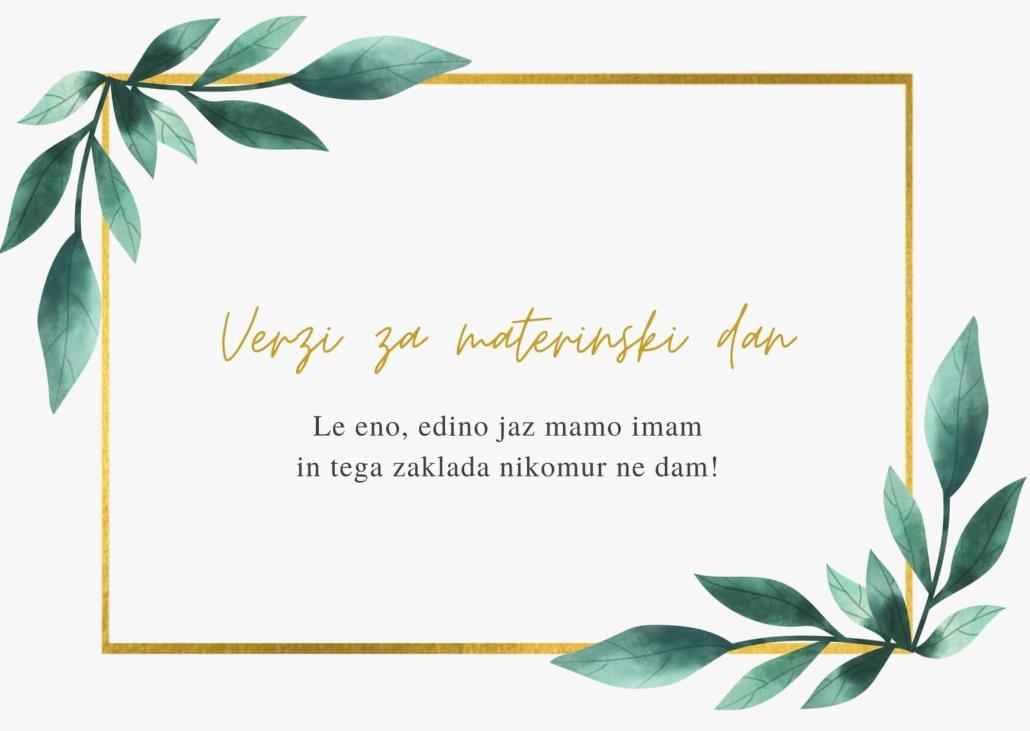 verzi-za-materinski-dan